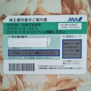エーエヌエー(ゼンニッポンクウユ)(ANA(全日本空輸))の ☆ ANA株主優待券 1 枚 ☆ (その他)