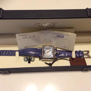 ガガミラノ(GaGa MILANO)のガガ ミラノ時計(レザーベルト)