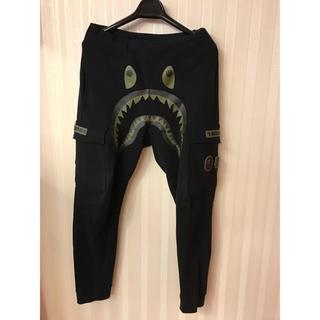 アンディフィーテッド(UNDEFEATED)のBAPE undefeated shark pants S size(その他)
