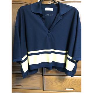 サンシー(SUNSEA)のneonsign 18ss  スクールポロ(ポロシャツ)