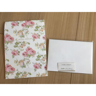ローラアシュレイ(LAURA ASHLEY)のローラアシュレイ 便箋セット(カード/レター/ラッピング)