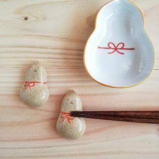 ひょうたん 箸置きセット その②(キッチン小物)