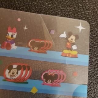ディズニー(Disney)のディズニークリアファイル 確認用(クリアファイル)