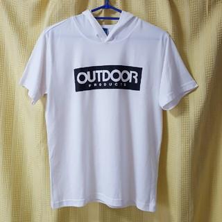 アウトドアプロダクツ(OUTDOOR PRODUCTS)のOUTDOOR パーカーTシャツ(Tシャツ(半袖/袖なし))