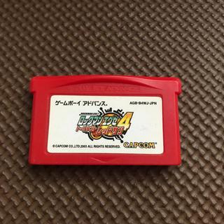ゲームボーイアドバンス(ゲームボーイアドバンス)のロックマンエグゼ4トーナメントレッドサン(GBA)(携帯用ゲームソフト)