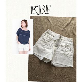 ケービーエフ(KBF)の【新品タグ付き】KBF☆ショートパンツ(ショートパンツ)