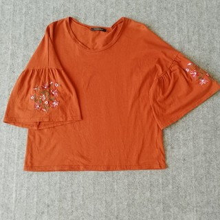 シマムラ(しまむら)のフレアスリーブTシャツ(Tシャツ(半袖/袖なし))