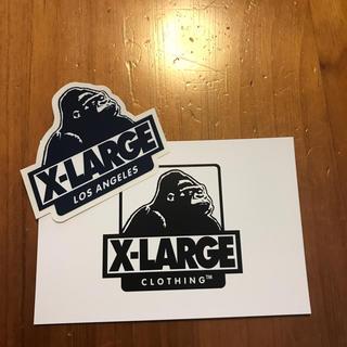 エクストララージ(XLARGE)の\値下げ/【美品】X-LARGE ステッカー&ポストカード(その他)