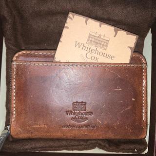 ホワイトハウスコックス(WHITEHOUSE COX)の【送料込み】Whitehouse Cox ミニジップウォレット natural(財布)