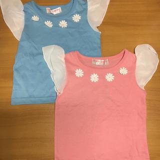 新品未使用!90sizeTシャツ 2枚セット!(Tシャツ/カットソー)
