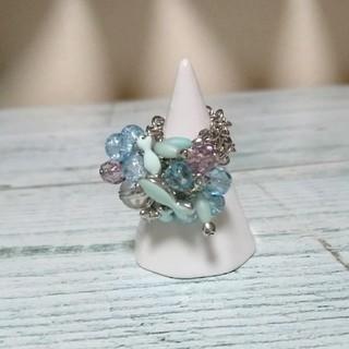 お魚パーツが可愛い指輪(リング(指輪))