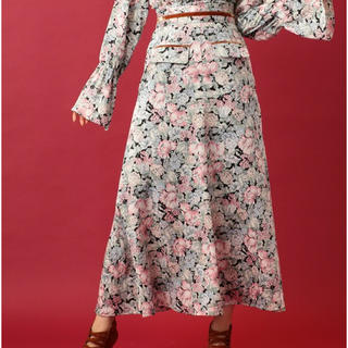 デイシー(deicy)のDEICY♡フラワーガーデンロングスカート(ロングスカート)