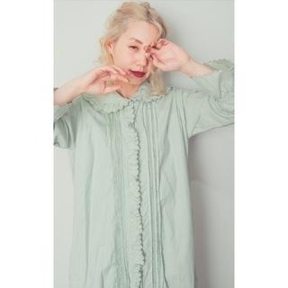 ロキエ(Lochie)の❣️【SMILE embroidery dress】❣️ ミント(ロングワンピース/マキシワンピース)