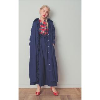 ロキエ(Lochie)の❣️【SMILE embroidery dress】❣️ ネイビー(ロングワンピース/マキシワンピース)