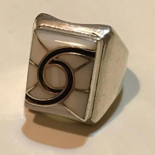 ズニ族 故Dickie Quandelacyのリング size12号弱 (リング(指輪))