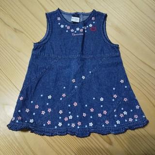 ニシマツヤ(西松屋)のジャンパースカート 90(ワンピース)