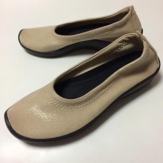 アルコペディコ(ARCOPEDICO)のアルコペディコ バレエシューズ 38サイズ 美品 健康靴 コンフォートシューズ(バレエシューズ)
