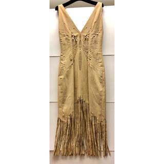 huge selection of 98f6b bdf6e 【美品】ディオール Dior ドレス フリル付き パーティー ワンピース