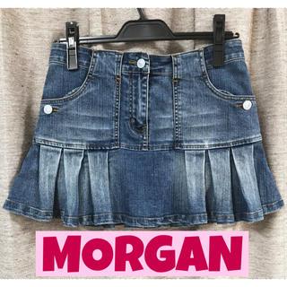 モルガン(MORGAN)のモルガン デニムスカート(ミニスカート)
