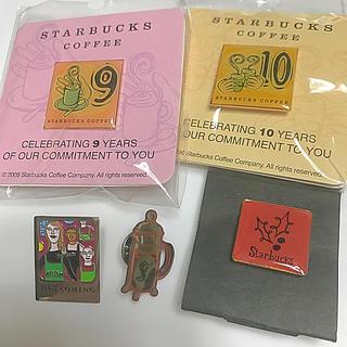 スターバックスコーヒー(Starbucks Coffee)のスターバックス バッジ5種(その他)