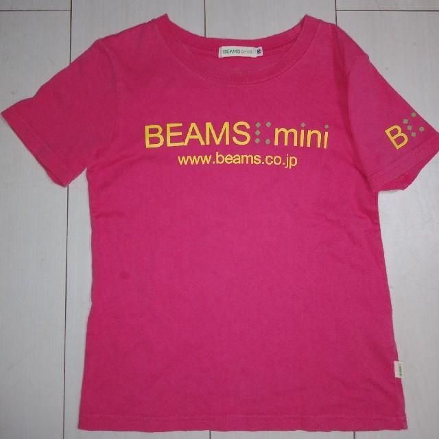 BEAMS(ビームス)のBEAMS mini ビームスミニ Tシャツ キッズ/ベビー/マタニティのキッズ服 女の子用(90cm~)(Tシャツ/カットソー)の商品写真