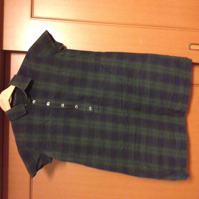 DO!FAMILY(ドゥファミリー)のチェックシャツワンピース レディースのワンピース(ひざ丈ワンピース)の商品写真