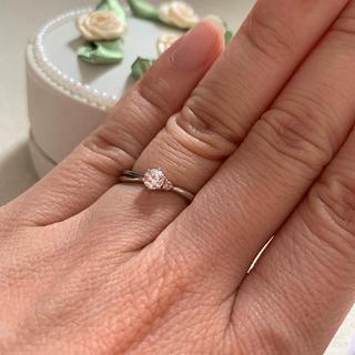 プラチナ ダイヤモンド リング 8号(リング(指輪))