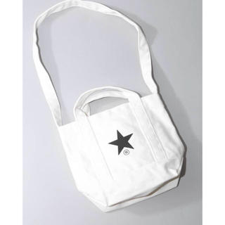 コンバース(CONVERSE)の即購入可能新品タグ付コンバーストーキョーキャンバスミニトートバッグ白格安(トートバッグ)