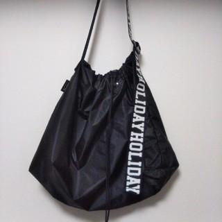 ホリデイ(holiday)のHOLIDAY PACKABLE BAG パッカブルホリデイバッグ  (ショルダーバッグ)