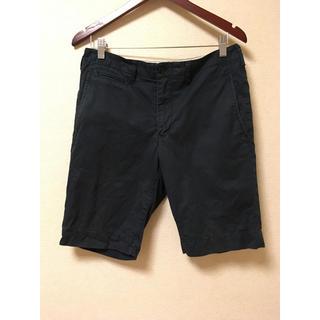 ムジルシリョウヒン(MUJI (無印良品))の無印 ネイビー パンツ M(ショートパンツ)