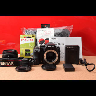 ペンタックス(PENTAX)のPENTAX ペンタックス K-S2 レンズキット!Wi-Fi機能搭載 7-27(デジタル一眼)