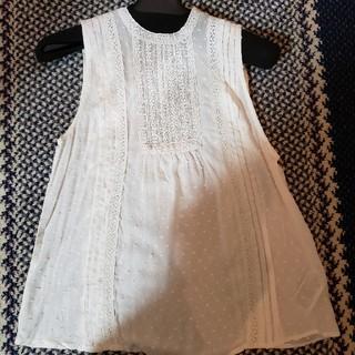 ギャップ(GAP)のGAP胸元レースブラウス(シャツ/ブラウス(半袖/袖なし))