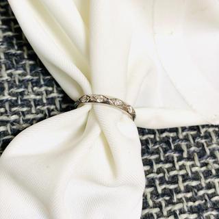 ミツビシ(三菱)の三菱マテリアル♡プラチナダイヤモンドベビーリング(リング(指輪))