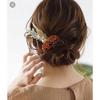 アネモネ(Ane Mone)のヘアアクセサリー ヘッドドレス ブライダル 造花 ヘッドパーツ ボタニカル(ヘッドドレス/ドレス)