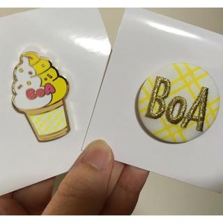 シャイニー(SHINee)のSMT BOA バッジ ピンバッチ(K-POP/アジア)