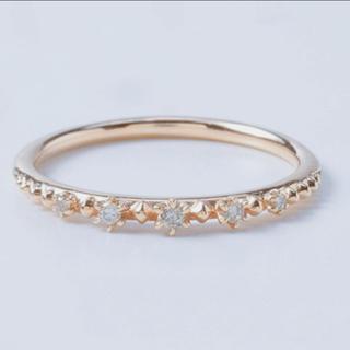ノジェス(NOJESS)のNOJESS ピンキーリング ダイヤモンド ピンクゴールド 指輪(リング(指輪))