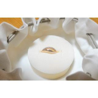 スタージュエリー(STAR JEWELRY)のスタージュエリー ダイヤモンド 計0.03ct K10PG リング(リング(指輪))