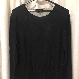 エンポリオアルマーニ(Emporio Armani)のニットシャツ 長袖 エンポリオアルマーニ(Tシャツ/カットソー(七分/長袖))