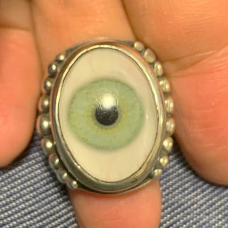 クレイジーピッグ(CRAZY PIG)のグレートフロッグ 義眼リング(リング(指輪))