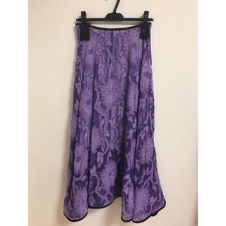 グリード(GREED)の新品 GREED  Flower Pattern Jacqurd Skirt(ロングスカート)