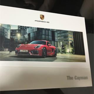 Porsche - ポルシェ 981cayman オプションカタログ