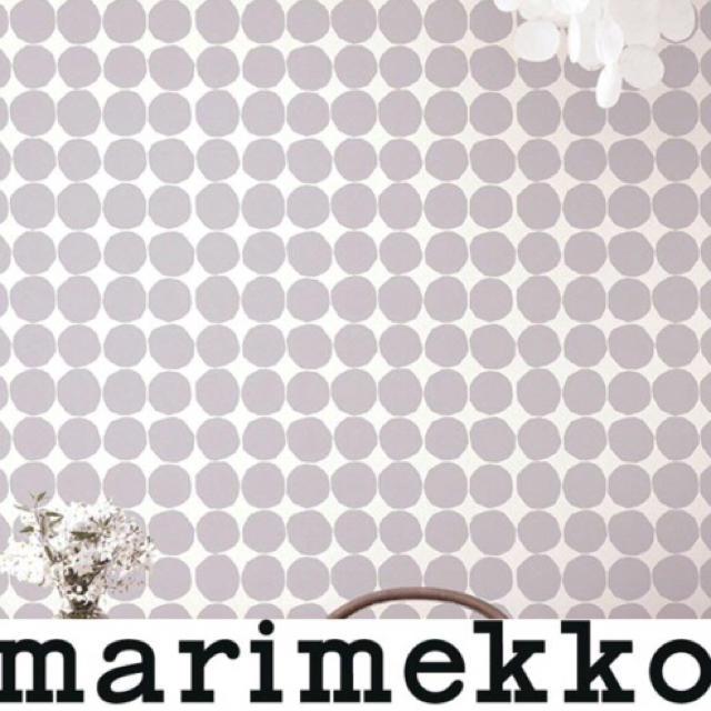 marimekko(マリメッコ)のsayuka様専用 新品 2ロール マリメッコ キヴェット 壁紙 グレー  インテリア/住まい/日用品のインテリア/住まい/日用品 その他(その他)の商品写真