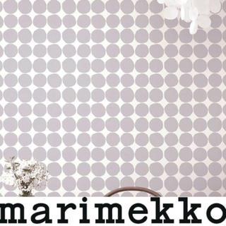 マリメッコ(marimekko)のsayuka様専用 新品 2ロール マリメッコ キヴェット 壁紙 グレー (その他)