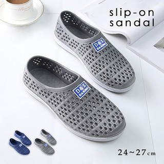 【送料無料】スリッポンサンダル(サンダル)