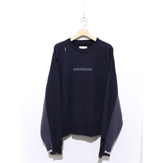 サンシー(SUNSEA)のstein OVERSIZED REBUILD SWEAT L/S(スウェット)