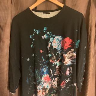 ラッドミュージシャン(LAD MUSICIAN)のLAD MUSICIAN 19ss 花柄ビッグTシャツ(Tシャツ/カットソー(七分/長袖))