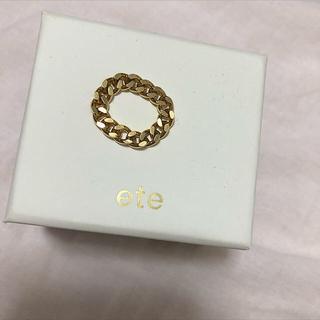 エテ(ete)のエテ チェーンリング(リング(指輪))