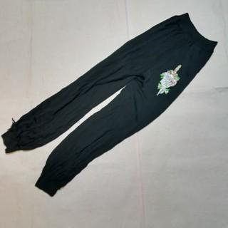 クリスチャンディオール(Christian Dior)のクリスチャン・ディオール メッシュパンツ 黒 ブラック(カジュアルパンツ)