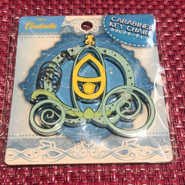 シンデレラ(シンデレラ)のディズニー カラビナキーチェーン シンデレラ レディースのファッション小物(キーホルダー)の商品写真