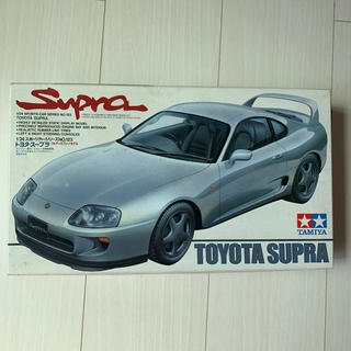 トヨタ(トヨタ)の絶版 トヨタ スープラ  プラモデル タミヤ 1/24(模型/プラモデル)